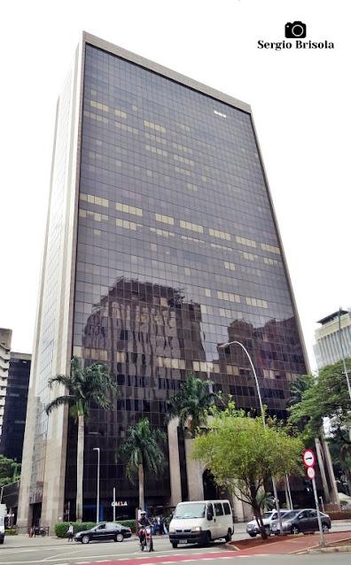 Vista ampla do Edifício Condomínio Faria Lima - Pinheiros - São Paulo