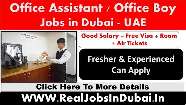 Office Boy Jobs In Dubai - UAE 2021