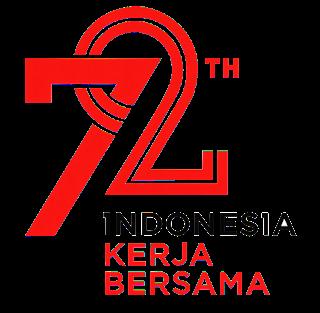 Logo 72 Tahun Kemerdekaan Indonesia dan maknanya