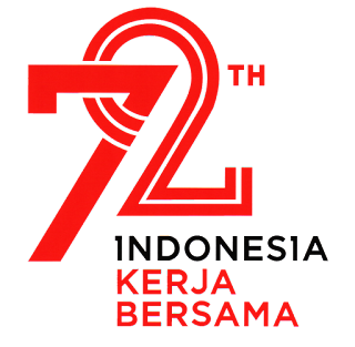 Gambar Logo Kemerdekaan Indonesia ke-72