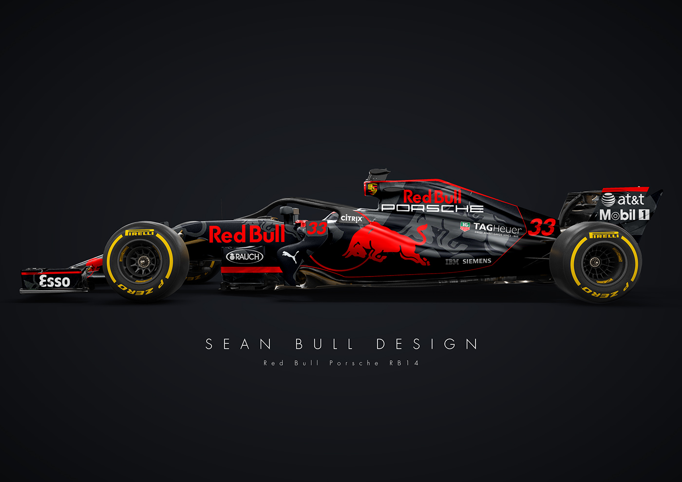 Porsche And Red Bull Racing F1 Car Is Oh So Tempting