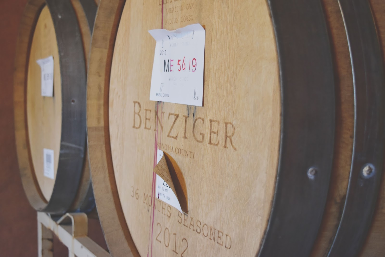 Benziger - a winery in Sonoma, California
