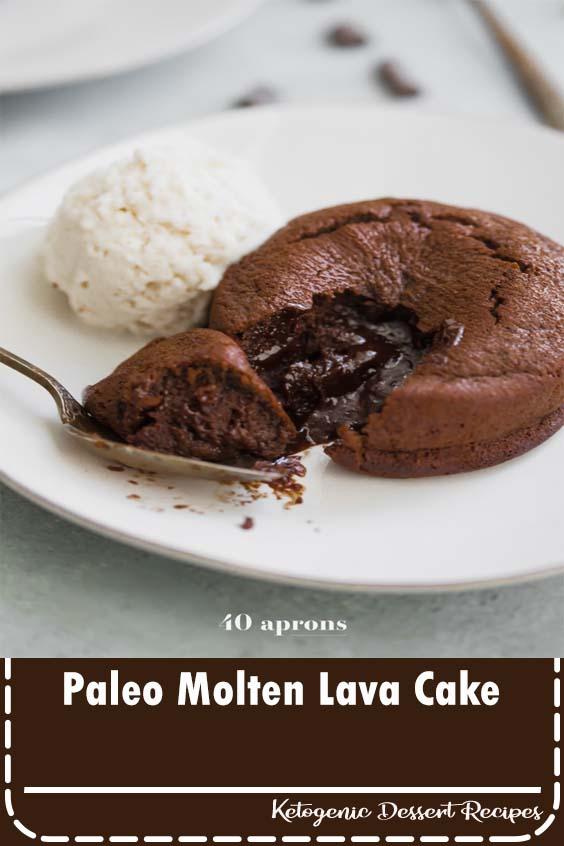 Paleo Molten Lava Cake