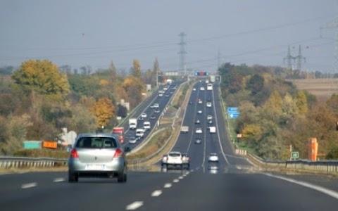 Lezárták az M1-es autópályát