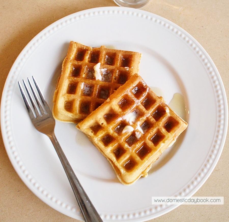 Classic Fluffy Waffles