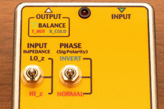 SSPH-HG の最大の特徴である入力インピーダンスと位相のコントロール