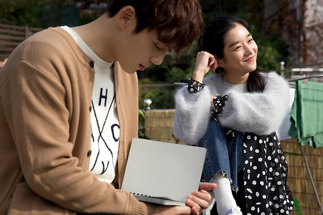 Kim Junghyun e Seo Yeji press