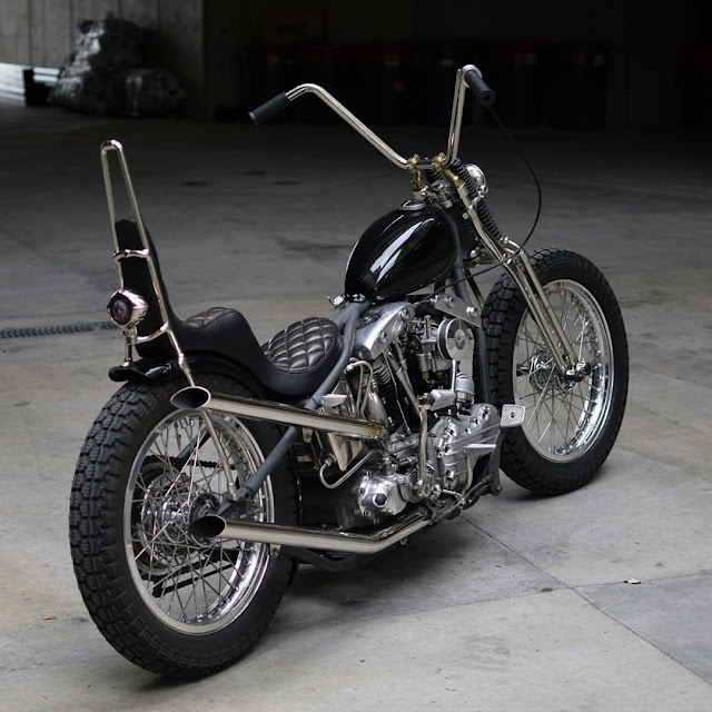 Harley Davidson Shovelhead By Regatta Garage Hell Kustom