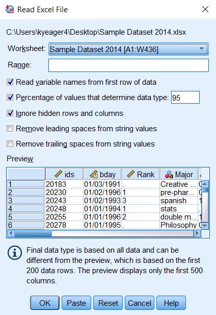 Cara Mencari Data Yang Sama Di Excel Beda Sheet : mencari, excel, sheet, Import, Excel, OfficeSPSS.com