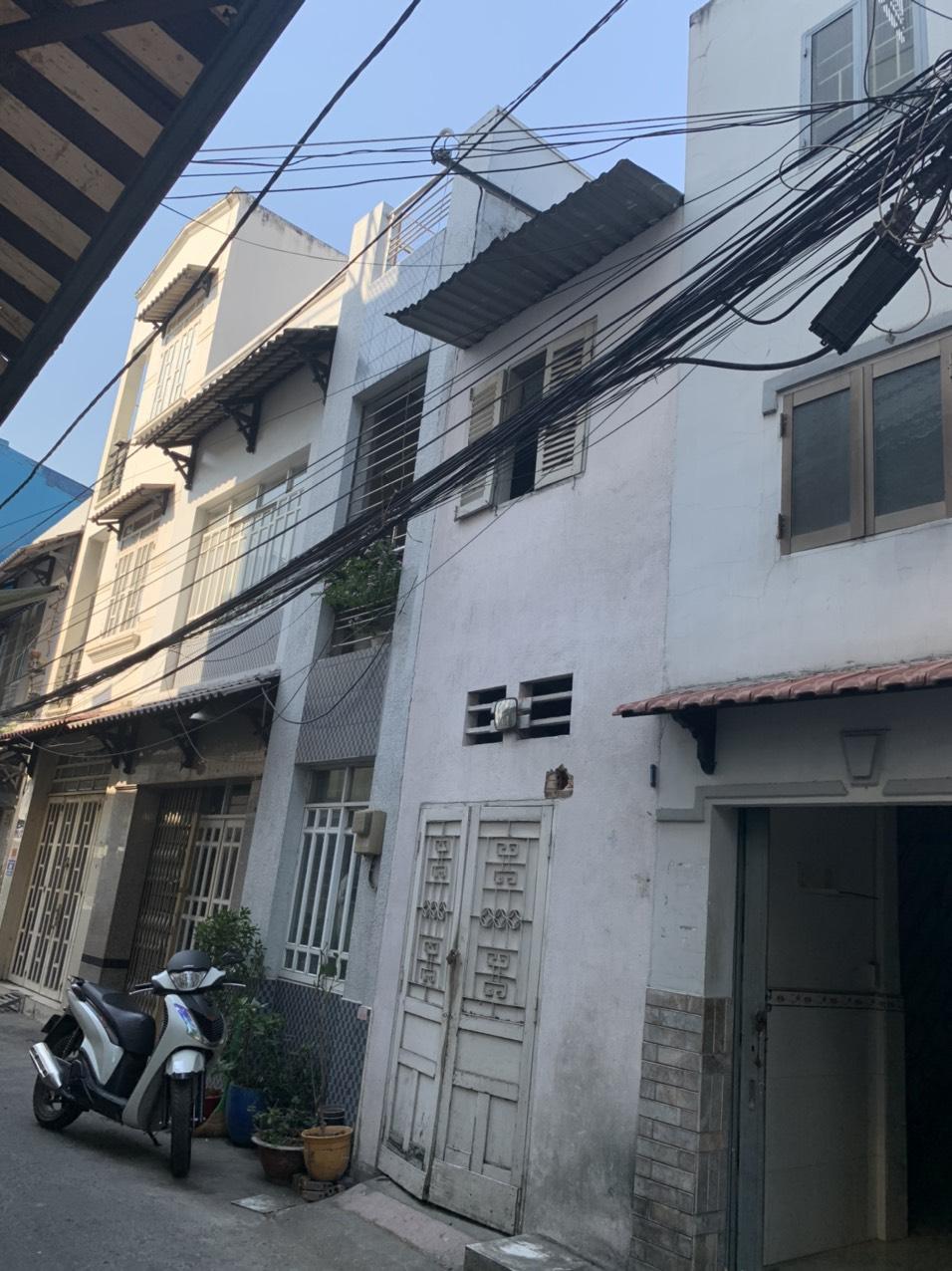 Bán nhà hẻm 232 Hưng Phú phường 8 Quận 8. Hẻm 6m xe hơi tới nhà