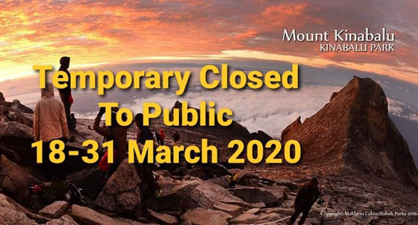 Sabah Tourist Attractions Closed
