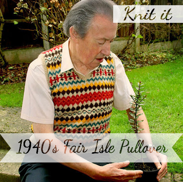 Knit yourself an fair isle pullover