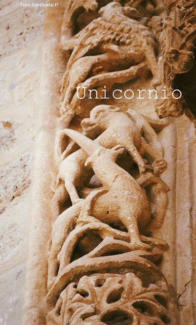 Unicornio, foto de Tere Santiuste sacada de la página de Facebook de la iglesia