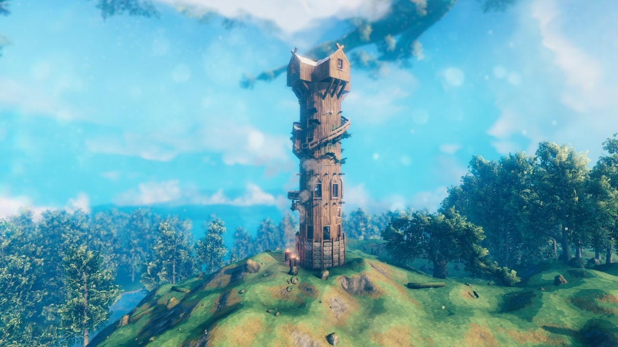 JIN's Tower is the winner of the first building competition