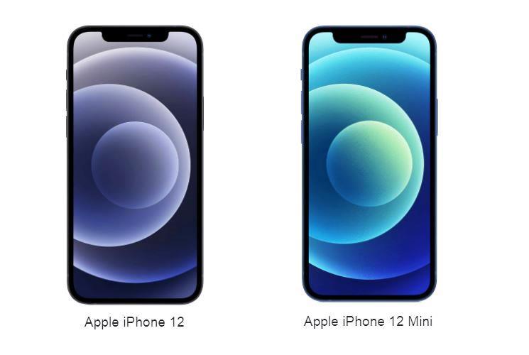 Apple iPhone 12 vs. Apple iPhone 12 mini