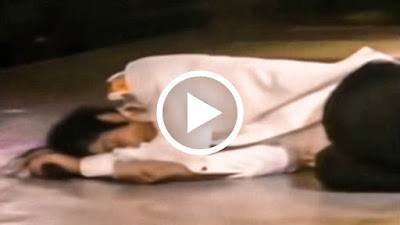 RARE - Michael Jackson Collapses Live on Stage