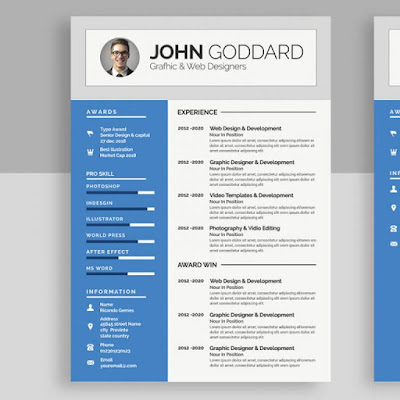 Free Resume Templates For Internships