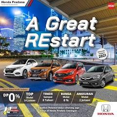 Dealer Honda Pradana Sawangan Depok - Harga Promo DP Kredit Honda Murah