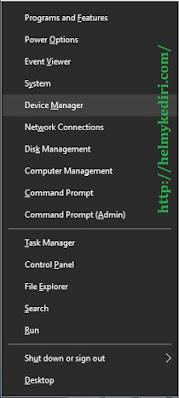 Install ulang driver jaringan