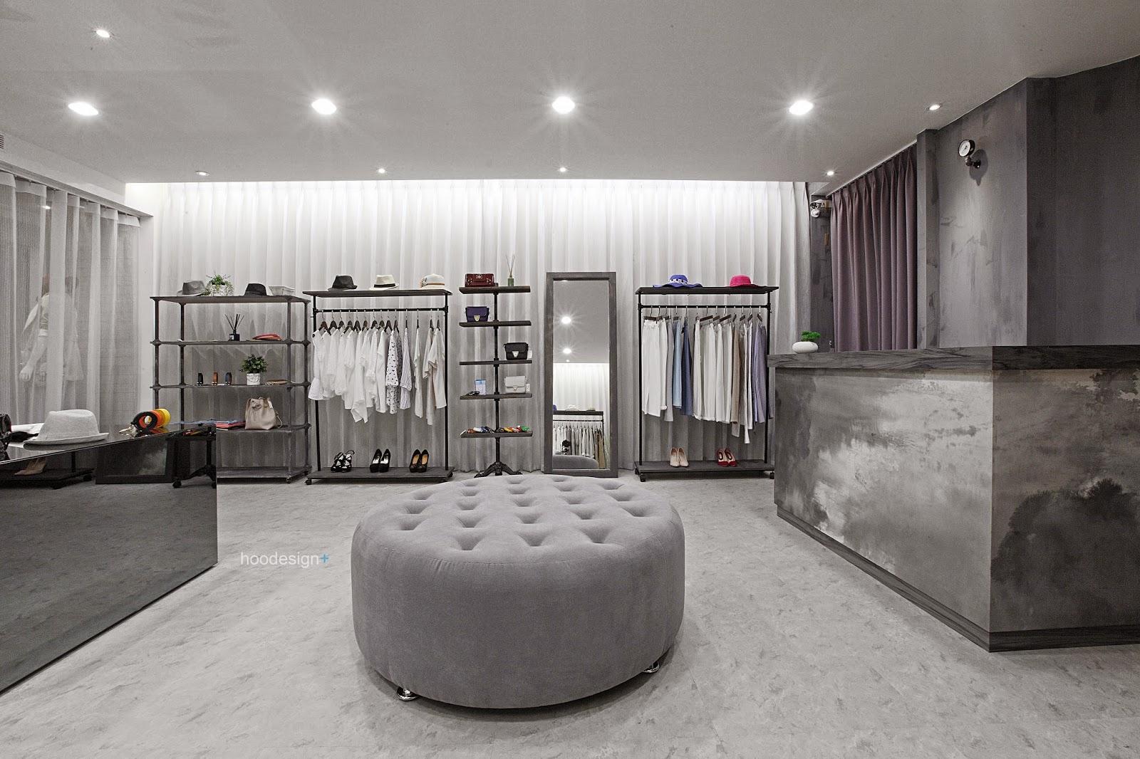 hoodesign+: MOUN墨服飾店 - 高雄服飾店設計