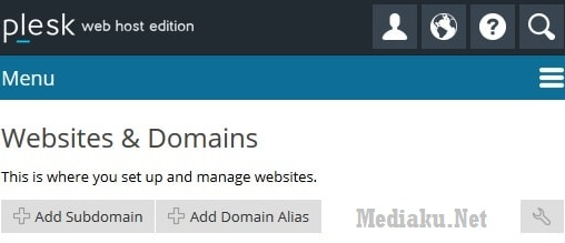 Plesk Add Subdomain