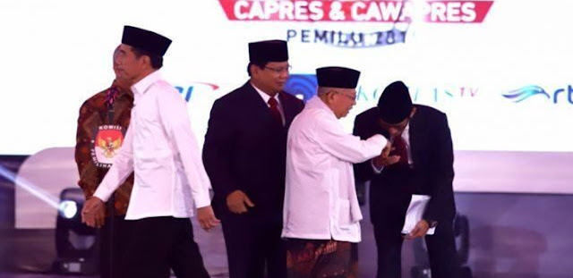 Debat Pilpres 2019, Kritik JK Soal Infrastuktur Jadi Senjata Prabowo Serang Jokowi