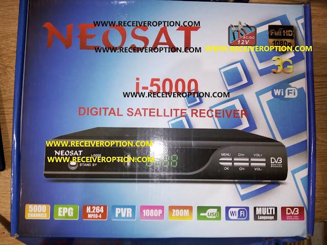 NEOSAT i-5000 AC/DC 12 VOLT HD RECEIVER DUMP FILE