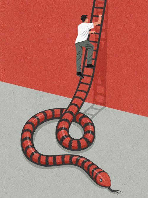John Holcroft ilustrações arte divertidas surreais críticas surreais
