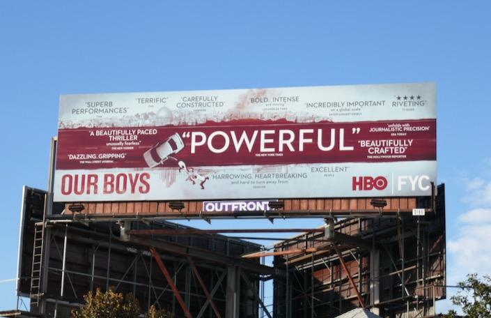 Our Boys 2019 HBO FYC billboard
