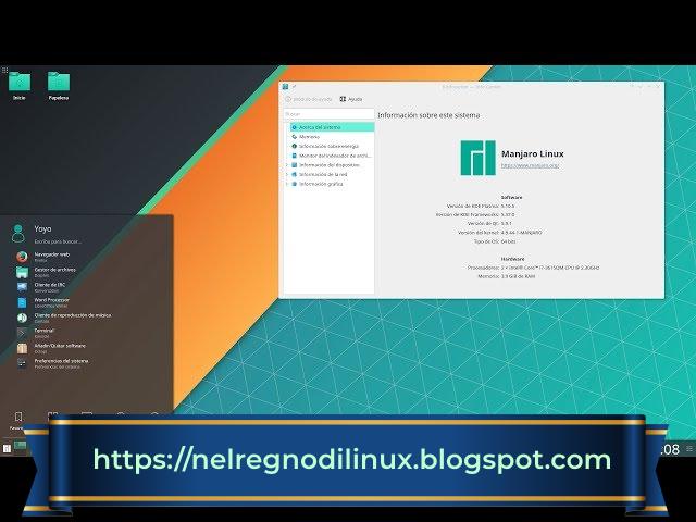Guida a Manjaro Linux: installazione passo a passo tramite Calamares installer grafico.