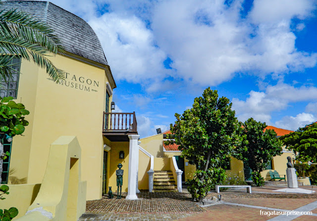 Octagon, Casa Museu de Simon Bolívar, Curaçao