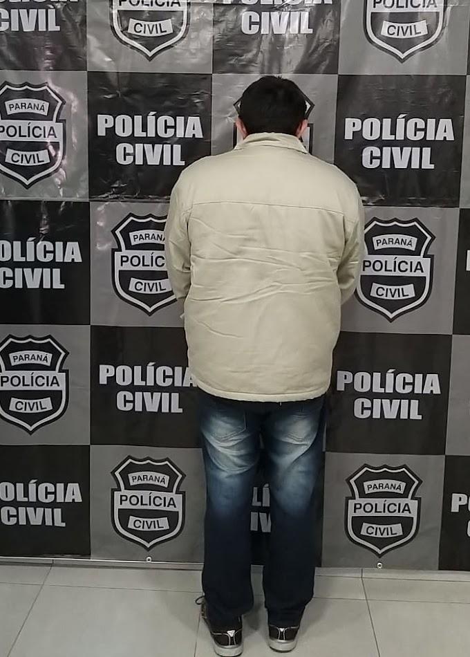 Polícia Civil de Laranjeiras do Sul prende zelador tarado acusado de estupro em Escola