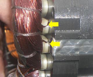 como saber cuando la bobina esta recalentada de un compresor