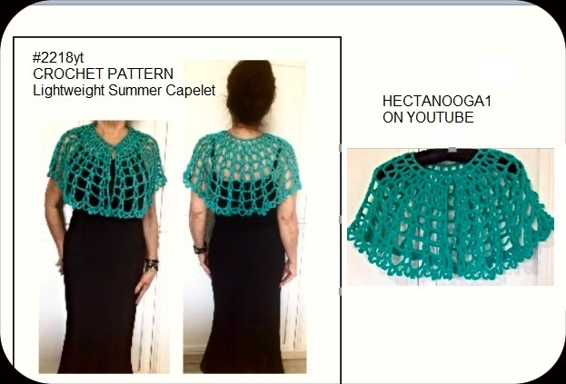 HECTANOOGA PATTERNS: Free Crochet Pattern - Summer Capelet ...