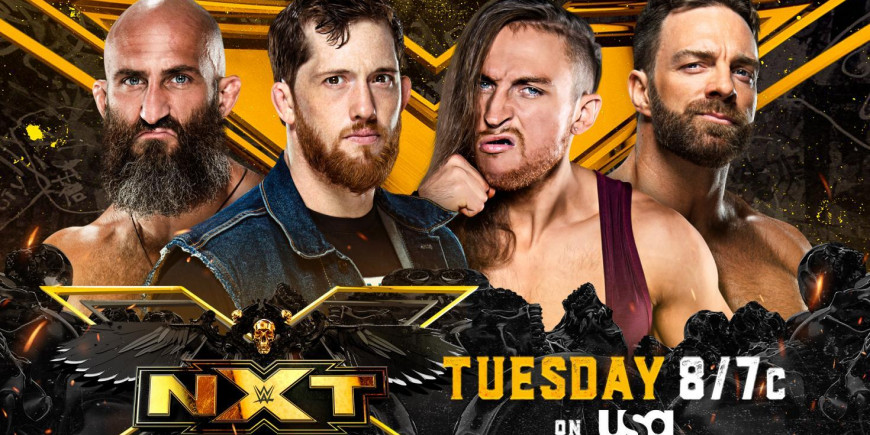 WWE anuncia combate pelo NXT Championship
