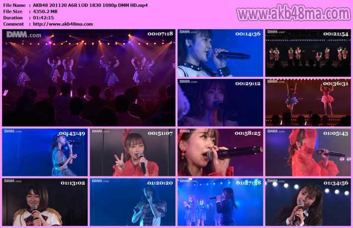 AKB48 201120 A6R LIVE