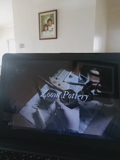 Virtual pottery learning session via Zoom with Reine So from So Pottery