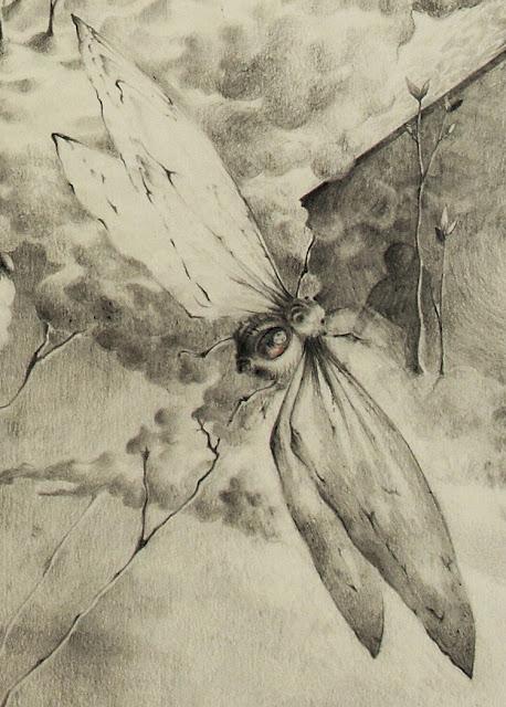 """""""Mannigfaltigkeit"""" - Zeichnung, Fragment"""