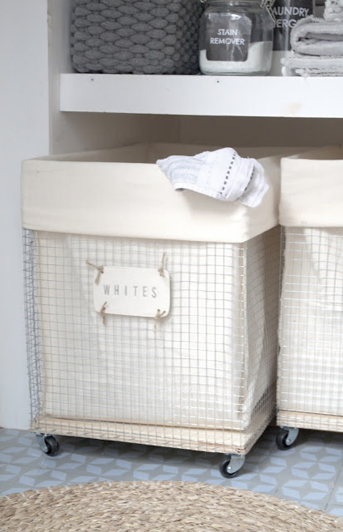 Diy To Try Laundry Hamper Ohoh Deco