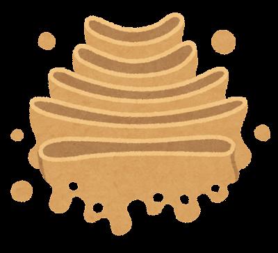 ゴルジ体のイラスト