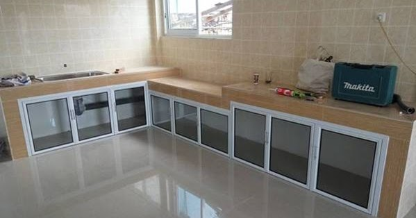 Harga Besi Baja Ringan Untuk Kanopi Contoh Dapur Minimalis Aluminium Cantik | Minimalist Art