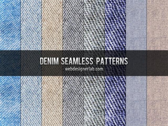Free Denim Seamless Patterns, photoshop patterns, free patterns