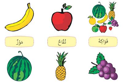 materi b arab kelas 1 semester 2