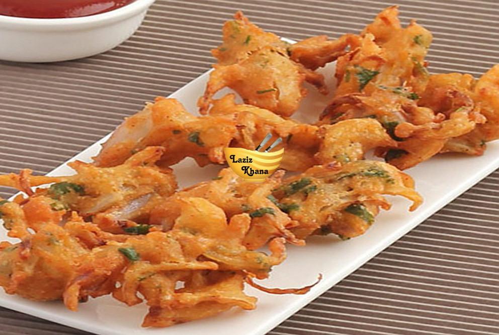 Onion Pakora Recipe in Hindi