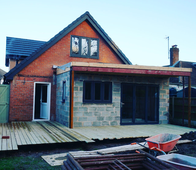 bungalow extension work