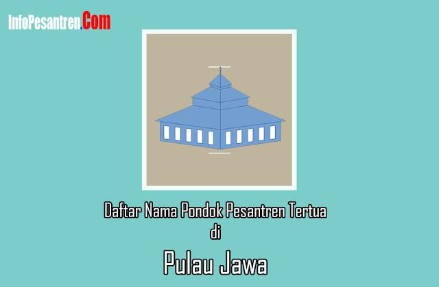 Daftar Nama Pondok Pesantren Tertua di Jawa