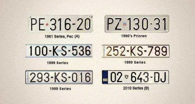 Oбавезна замена регистарских таблица КС таблицама РКС