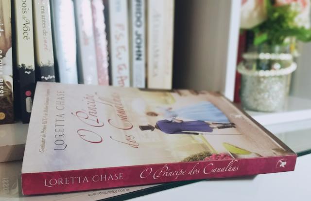 Livro O Príncipe dos Canalhas -  Loretta Chase