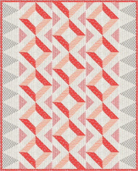 Paseo Quilt designed by Robert Kaufman Fabrics