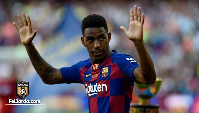 فيربو لاعب برشلونة